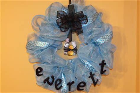 ritzy wreaths: baby shower/hospital door wreaths