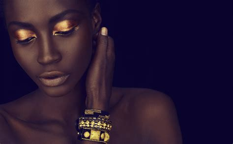 Eyeshadow Golden 5 steps to achieve the golden eye look tgin