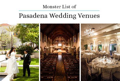 pasadena wedding venues cheap navokal - Wedding Reception Venues Pasadena Ca