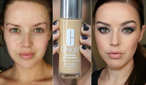 clinique even better foundation buff impression review clinique beyond perfecting