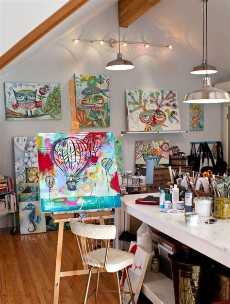 design your art studio 10 inspirational art studios carmen whitehead designs