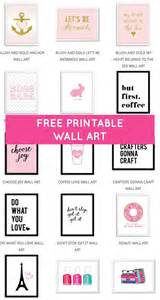 printable wall art free printable wall art from chicfetti money and time