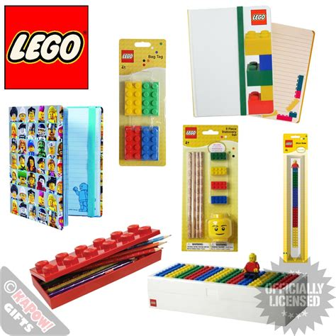 Where Can I Buy A Lego Store Gift Card - lego stationary set mini figures back to school equipment kids novelty official ebay