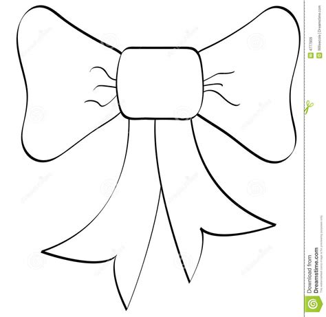 bow coloring pages best photos of cheer bow outline bow clip