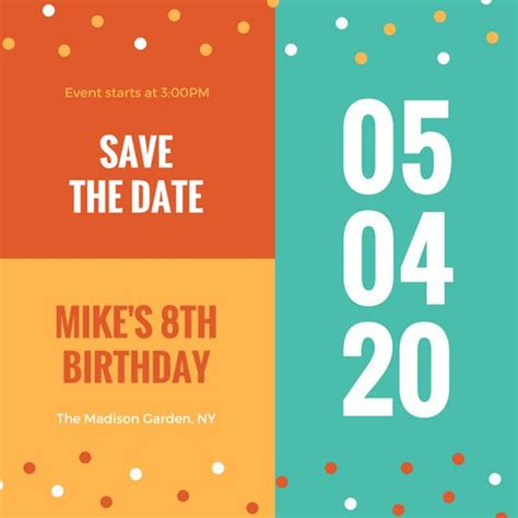free save the date birthday templates meeting save the date templates gallery template design