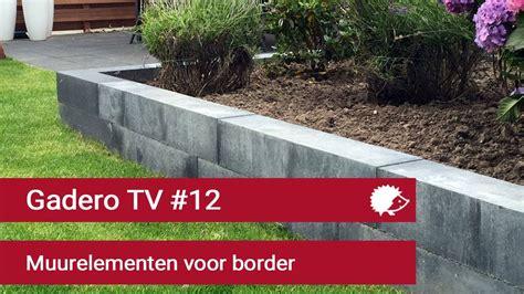 Border Tuin Maken by 12 Verhoogde Border Maken Betonnen Muurelementen