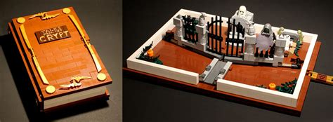 brick tales a buildable lego pop up book brickfinder 13 totally spooky halloween lego builds