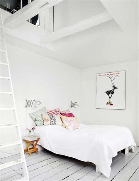 Small Home Office Design cool and comfy scandinavian style bedroom