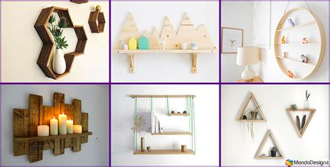 Idee Design Casa Fai Da Te by Mensole Fai Da Te In Legno 20 Semplici Idee Originali E
