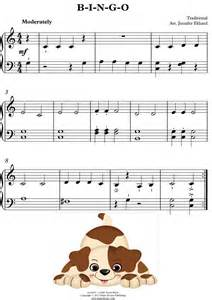 Piano sheet music with letters for kids piano sheet music on