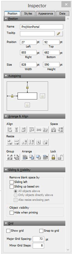 filemaker layout object names working with layout object attributes and variables in