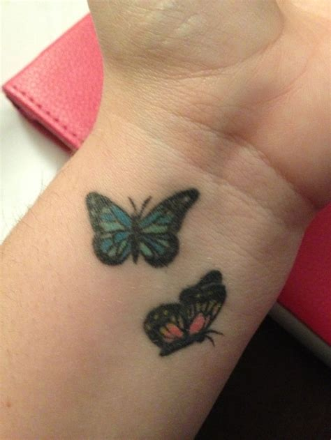 wrist butterfly tattoos 17 best ideas about butterfly wrist on