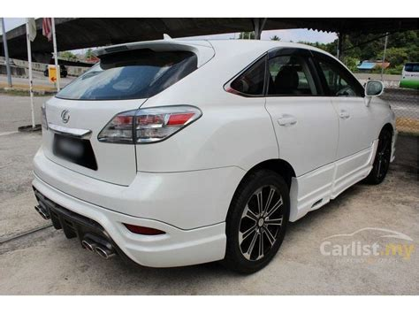 lexus cars 2009 lexus rx350 2009 3 5 in penang automatic suv white for rm
