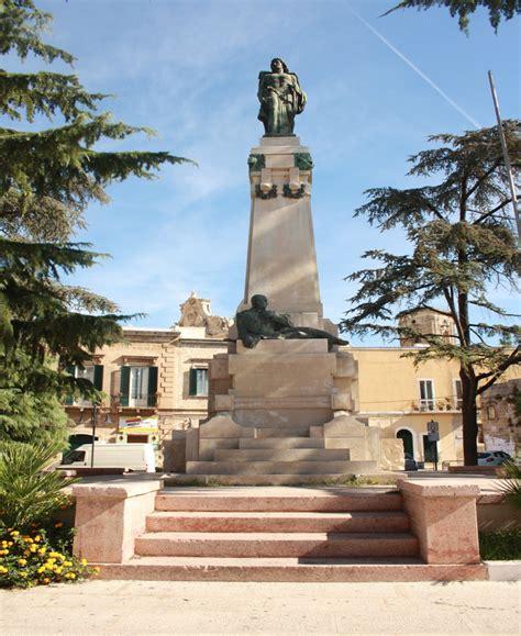 francavilla fontana monumento ai caduti della grande guerra francavilla