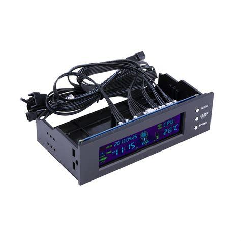 temperature fan speed controller 5 25 inch pc fan speed controller temperature display lcd