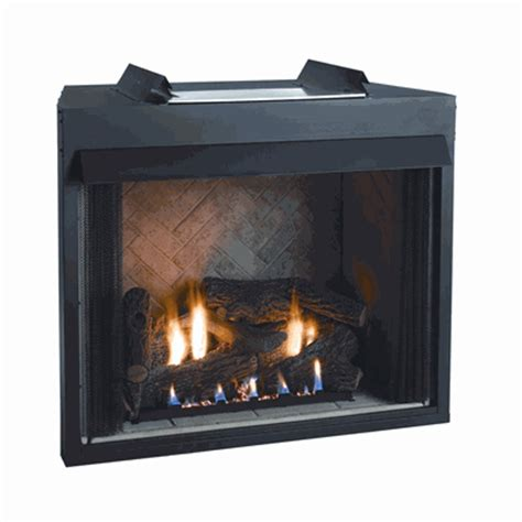 gas fireplace logs with blower empire breckenridge select vent free flush gas firebox