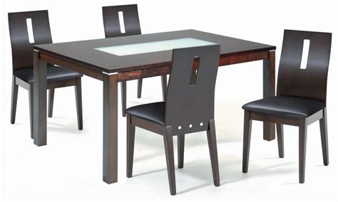 Wood And Glass Dining Table And Chairs Dining Tables For Dining Table And Chairs For Small Spaces