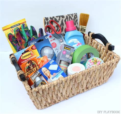 new homeowner gifts what to do with your blogger swag bag survival kits