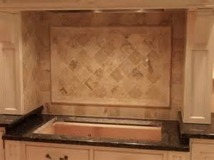 travertine tile kitchen backsplash 62 best tile backsplashes images on backsplash