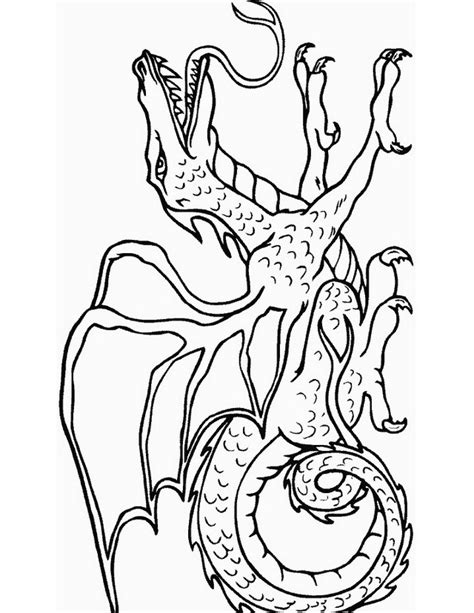 chimera coloring pages coloring pages