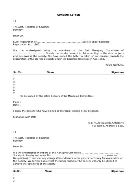 Patient Consent Letter Informed Consent Letter Template Best Free Home Design Idea Inspiration
