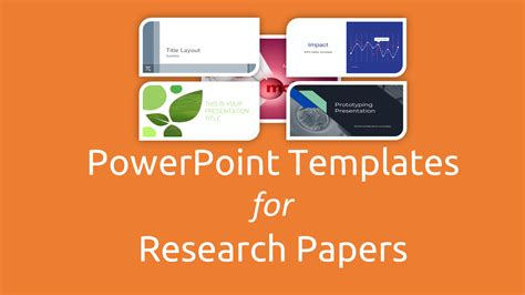 themes for paper presentation free powerpoint templates for research papers presentation