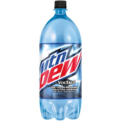 mountain dew mountain dew voltage raspberry flavor
