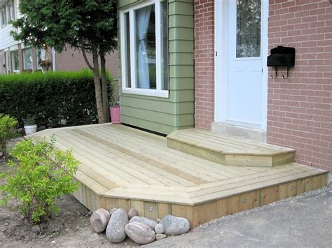 building front door steps