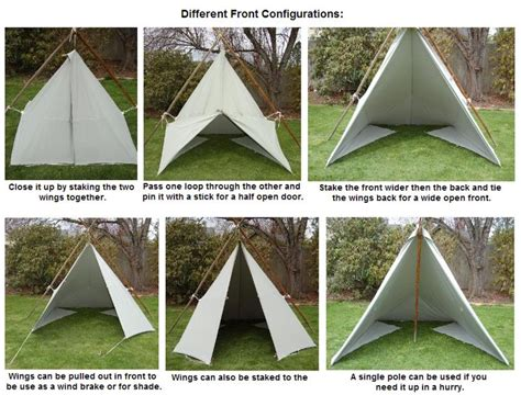 1 tarp tent with floor and door 17 best images about tarptent s on shelters
