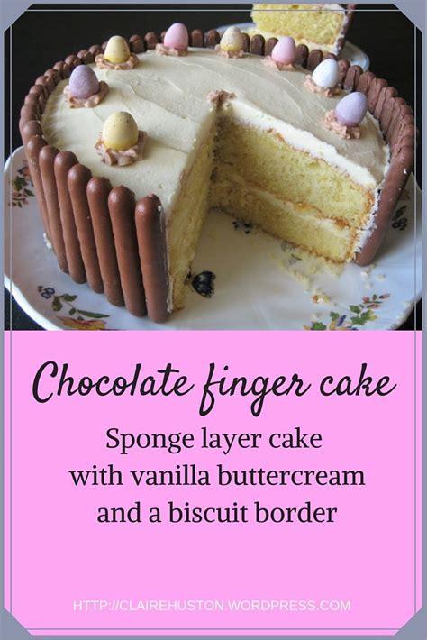 fingertips kuchen die besten 25 cadbury fingers cake recipes ideen auf