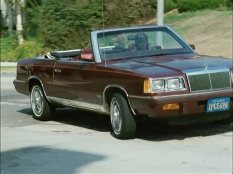 1984 Chrysler Lebaron by 1984 Chrysler Lebaron Information And Photos Momentcar