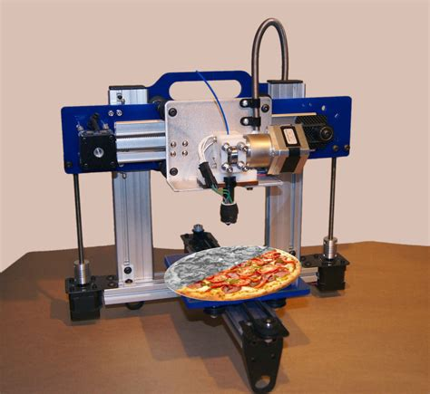 Make 3d Creatures From Your Printer by Pizza With 3d Printers Practicallyserious