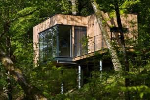 Log Cabin Magazine Les Cabanes Du Domaine De Salagnac Yook 244