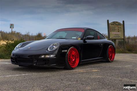 Custom Porsche 911 by Porsche 911 S With Bright Custom Wheels By