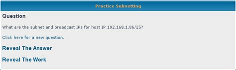 subnetting tutorial questions free subnetting practice questions packetlife net