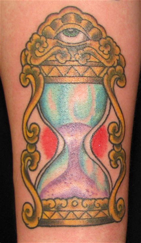 traditional hourglass tattoo hourglass purr