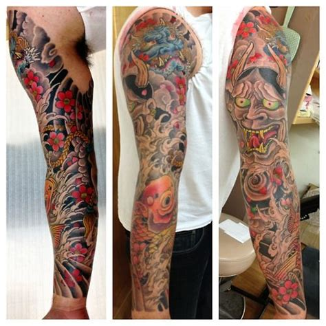 traditional japanese tattoo sleeve traditional japanese inked japanese