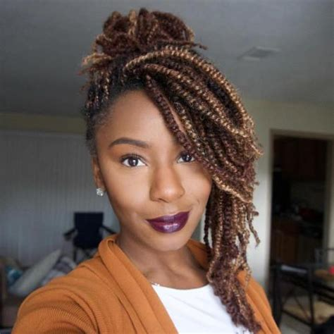 hair needed to do kinky twists 30 hot kinky twists hairstyles to try in 2018