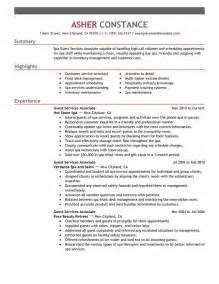 Guest Service Associate My Perfect Resume