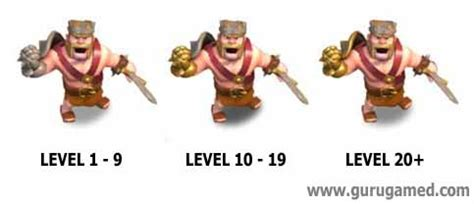 clash of clans barbarian level 7 clash of clans ข อม ล hero barbarian king อ พ lv damage และ hp