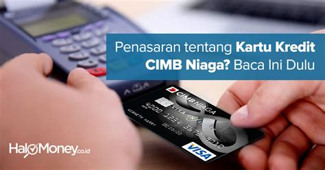 buat kartu kredit niaga online kartu kredit cimb niaga syarat apply aplikasi online dan
