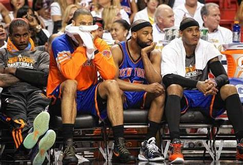 knicks bench with tyson chandler sick ny knicks are ill equipped to