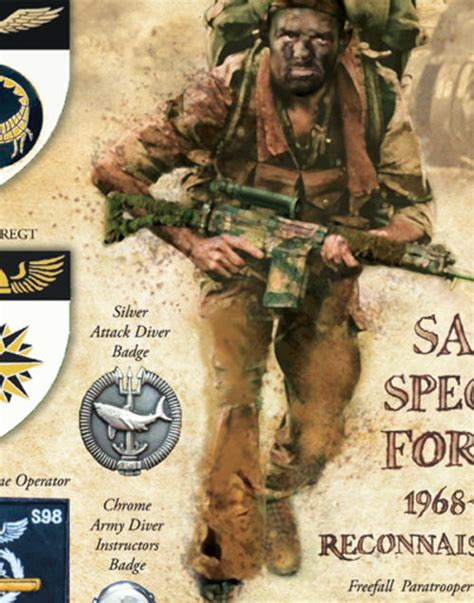 army south books south army recce special forces 1968 1991