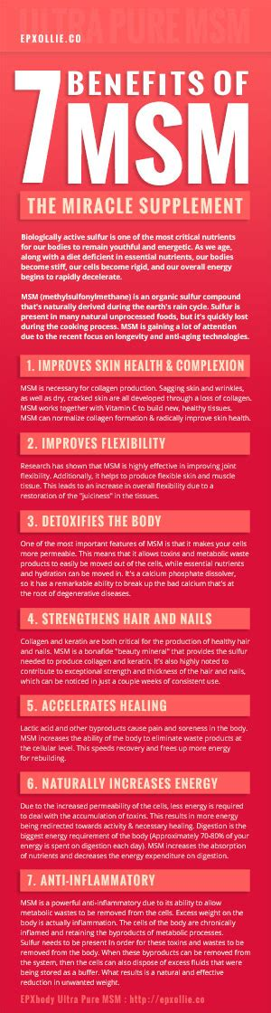7 Msm Benefits What You Need To Know About This Miracle