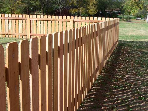 wood picket fence styles fences