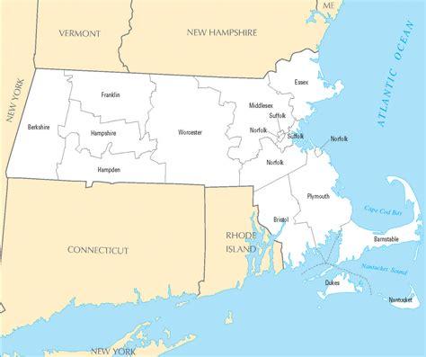 massachusetts political map massachusetts map blank political massachusetts map with