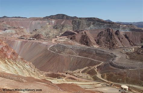 arizona pits open pit copper mine at clifton