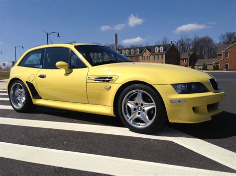 yellow for sale low on a dakar yellow z3 m coupe cars for