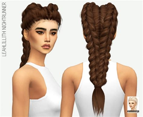 how to download hairstyles in sims 4 leahlillith nightrunner solids at miss paraply 187 sims 4