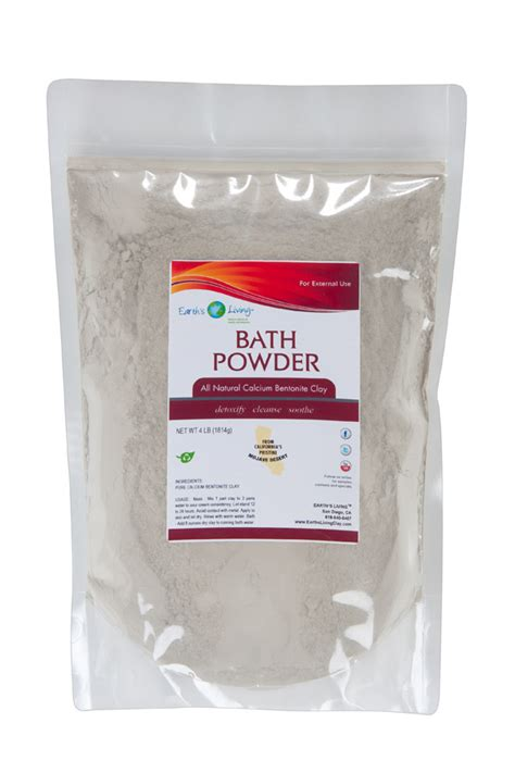 Living Clay Detox Bath by Detox With Bentonite Clay Baths Slim And Detox Wraps